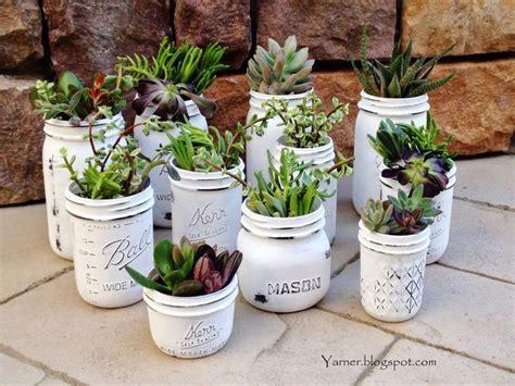 homemade flower pots 20 diy mason jars flower pots total survival