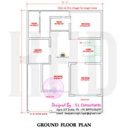 Floor House Plans In India Indian Style Flat Roof House With Floor Plan