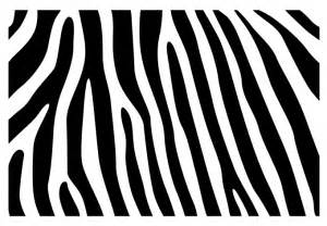 Writing Stickers For Walls zebra skin pattern wall decal beautiful zebra vinyl decor