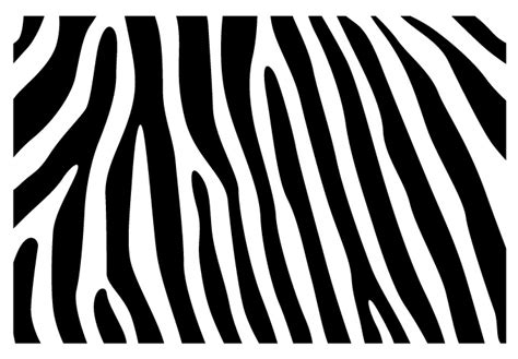 Wall Stickers zebra skin pattern wall decal beautiful zebra vinyl decor