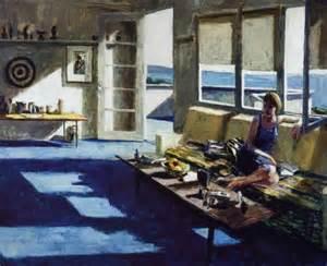 American Home Interior Roger Kuntz Interior With Figure