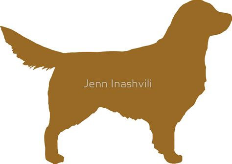 golden retriever silhouette quot golden retriever silhouette s quot stickers by jenn inashvili redbubble