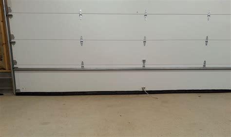 Garage Door Draft Stopper Garage Door Stopper Add A Door Stop To Your Interior Garage Door Hometalk Garage Door Draft