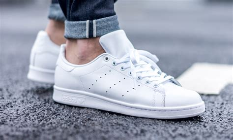 Adidas Stan Smith White adidas just dropped all white stan smiths