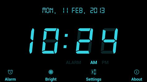 digital alarm clock free android apps on play