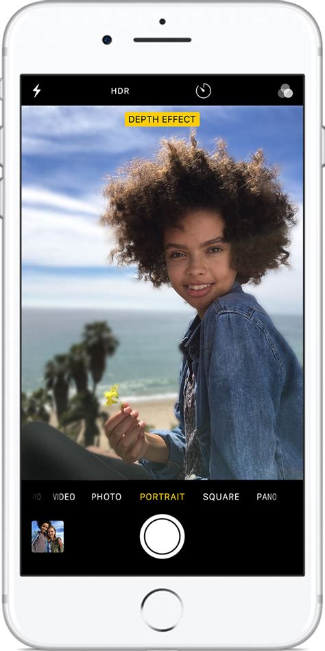 use portrait mode on your iphone apple support