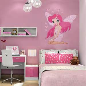 fairy princess butterfly wall sticker bedroom decor decal roommates fairy princess wall stickers girls bedroom