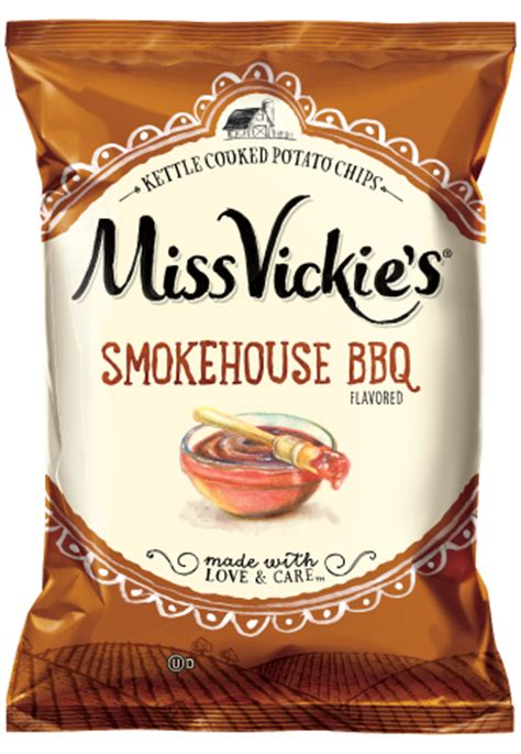 Miss Vickie S Tattoo Shop   miss vickie s 174 smokehouse bbq flavored kettle cooked