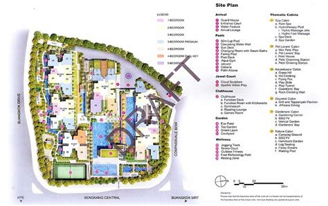 jewel buangkok site plan developer sale official jewel at buangkok
