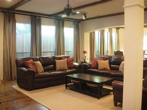 living room furniture leather reclining sofa brown