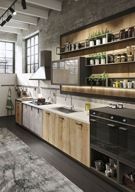 industrial kitchen cabinets refined kitchen brings industrial richness to urban interiors