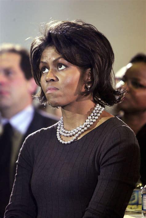 obama wife haircut michelle obama flip flip lookbook stylebistro
