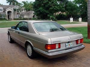 1986 Mercedes 560 Sec 1986 Mercedes 560 Sec W126 Coupe