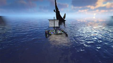 ark boat beached ark leedsichthys beached no sound youtube