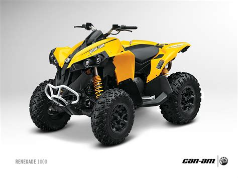 2013 can am renegade 1000 liter class off road aggression   autoevolution