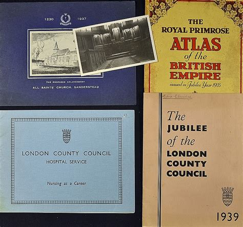 the london county council 0500518254 london county council phlets to include 1939 th