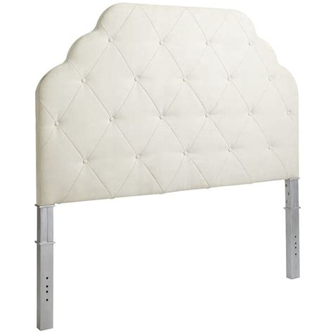 pier one upholstered headboard pin by foster on wish list