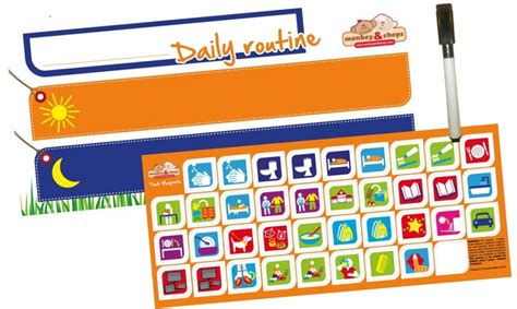 what s included daily routine chart help your family get organised