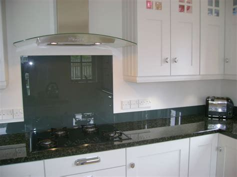 Grey Kitchens Ideas by Made To Measure Coloured Glass Splashbacks