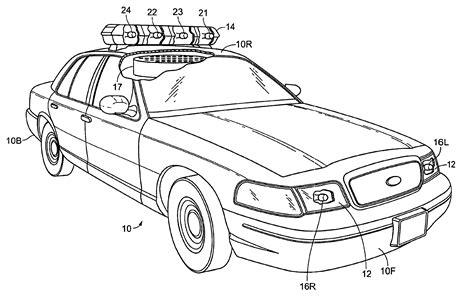 patent us6758718 car with realistic light and