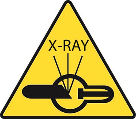 printable x ray radiation sign image gallery x ray symbol