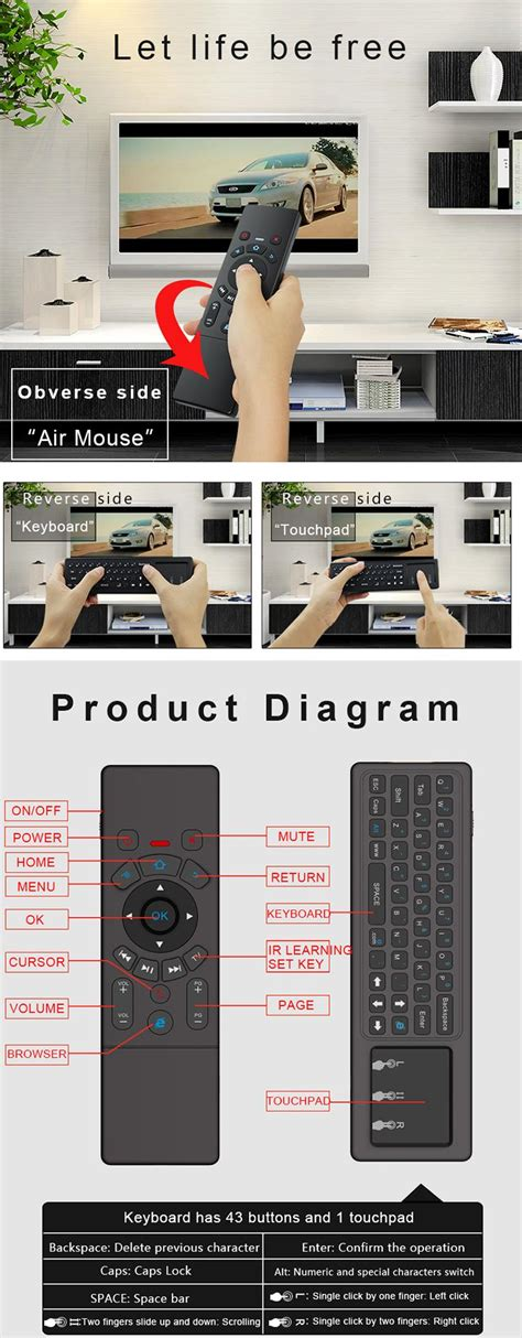 learn piano xbox t6 2 4g wireless air mouse keyboard with touchpad ir