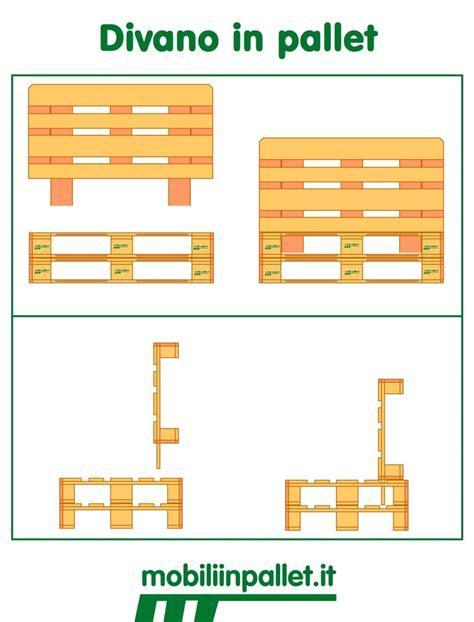 misure pedane epal come realizzare un divano con i pallet mobili in pallet