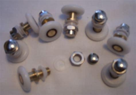 Shower Door Wheel Shower Door Wheels Rollers Runners Pullers 19 21 23 25 26 27 28mm Set Of 8 Ebay