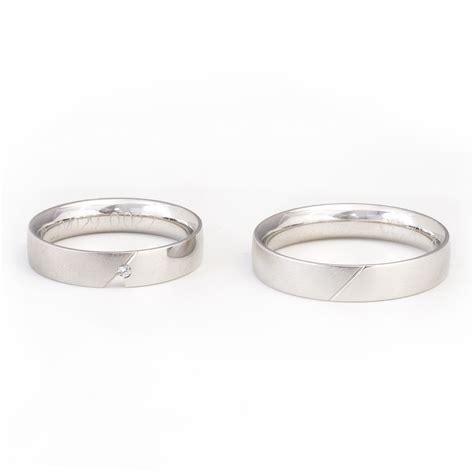 Ringe Verlobung by 2 Stk Verlobung Trauung Ringe Silber Mit Stein 64 56