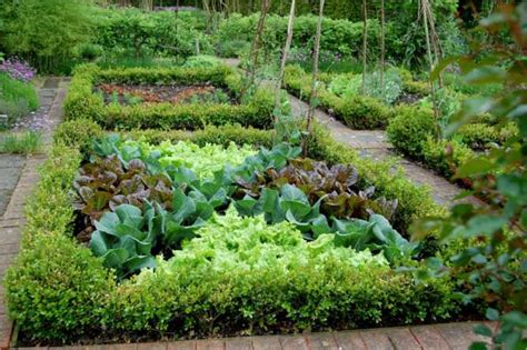 Potager Garden Layout Pleasant Living Summer Gardens Winter Dreams