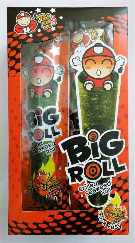 Tao Kae Noi Big Roll Squid 3 6gr tao kae noi big roll crispy grilled seaweed 10 count