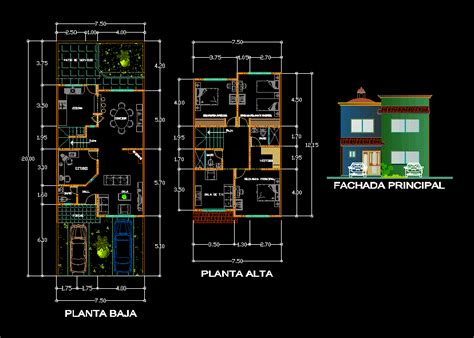 autocad floor plans hous 2d dwg plan for autocad designs cad