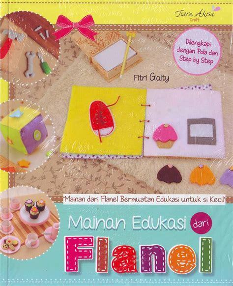 mainan edukasi dari flanel buku mainan edukasi dari flanel crafts