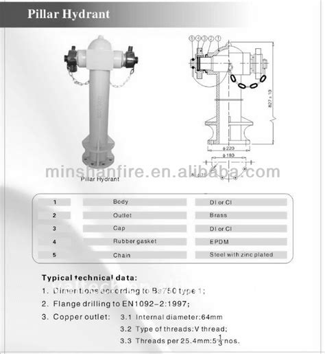 Hydrant Pillar 2 Way bs750 2 way pillar hydrant pillar type buy