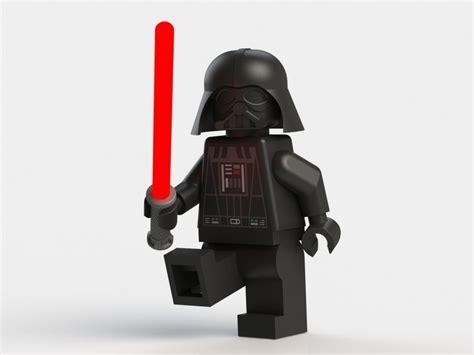 Lego Dart Vather darth vader lego 3d model 3d printable stl sldprt sldasm slddrw wrl wrz cgtrader