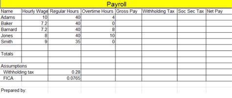19 Free Payroll Template Word Excel Formats Payroll System Template
