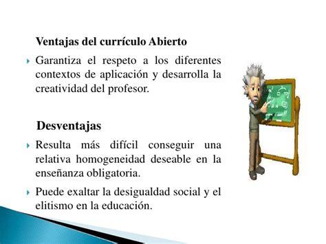 Ventajas Y Desventajas Modelo Curricular De teoria y dise 241 o curricular por miguel llano