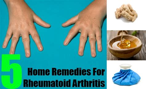 5 home remedies for rheumatoid arthritis