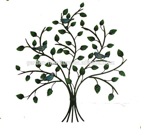 Home Decor Wholesale Supplier xy13472 iron tree wall art tree of life metal haning