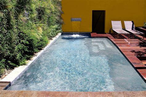 maximum comfort pool and spa mini pool and small concrete pool diffazur swimming pools