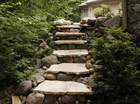flagstone steps flagstone stairs search backyard