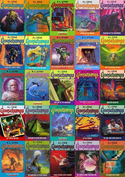 pictures of goosebumps books r l stine goosebump books still mine 90 s