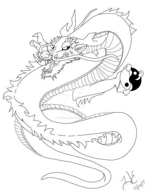 simple asian tattoo design japanese dragon tattoo design by infinitemango on deviantart