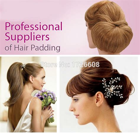 synthetic hair updo styles updo hair padding for hair up styles pad hair for short