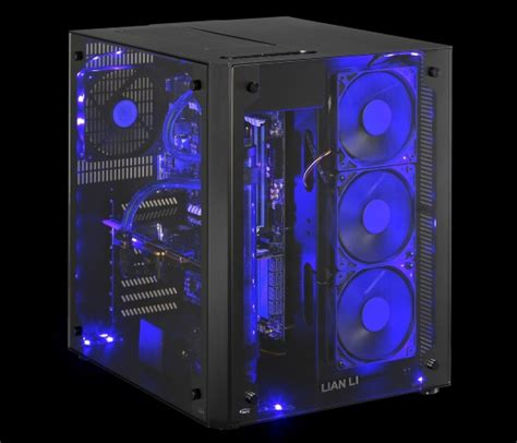 rgb light pc rgb leds light lian li s dual chambered pc o8