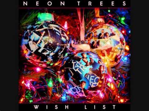 neon trees wish list lyrics