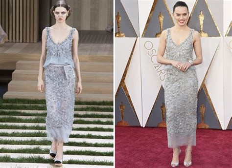 Catwalk To Carpet Kate Bosworth In Chanel Couture by Ridley In Chanel Couture 2016 Nepal