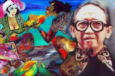 Hendra Gunawan Sang Pelukis Rakyat 1 sang pelukis rakyat itu dianugerahi tanda kehormatan oleh