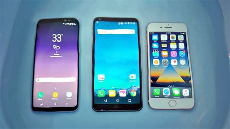 Motomo Samsung Galaxy V samsung galaxy s8 vs iphone 7 vs lg g6 water test waterproof