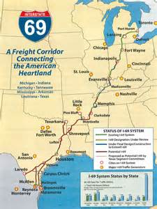 interstate 69 corridor for webster chosen after 20 years
